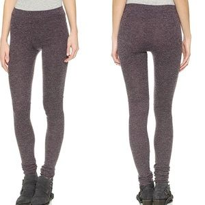 Free People  Heathered Knit Soft Leggings XS